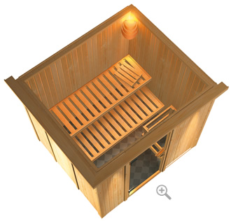 sauna bio en bois specifications technique piscines-france