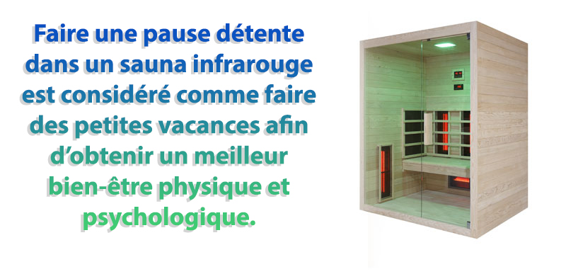 sauna infrarouge interiur