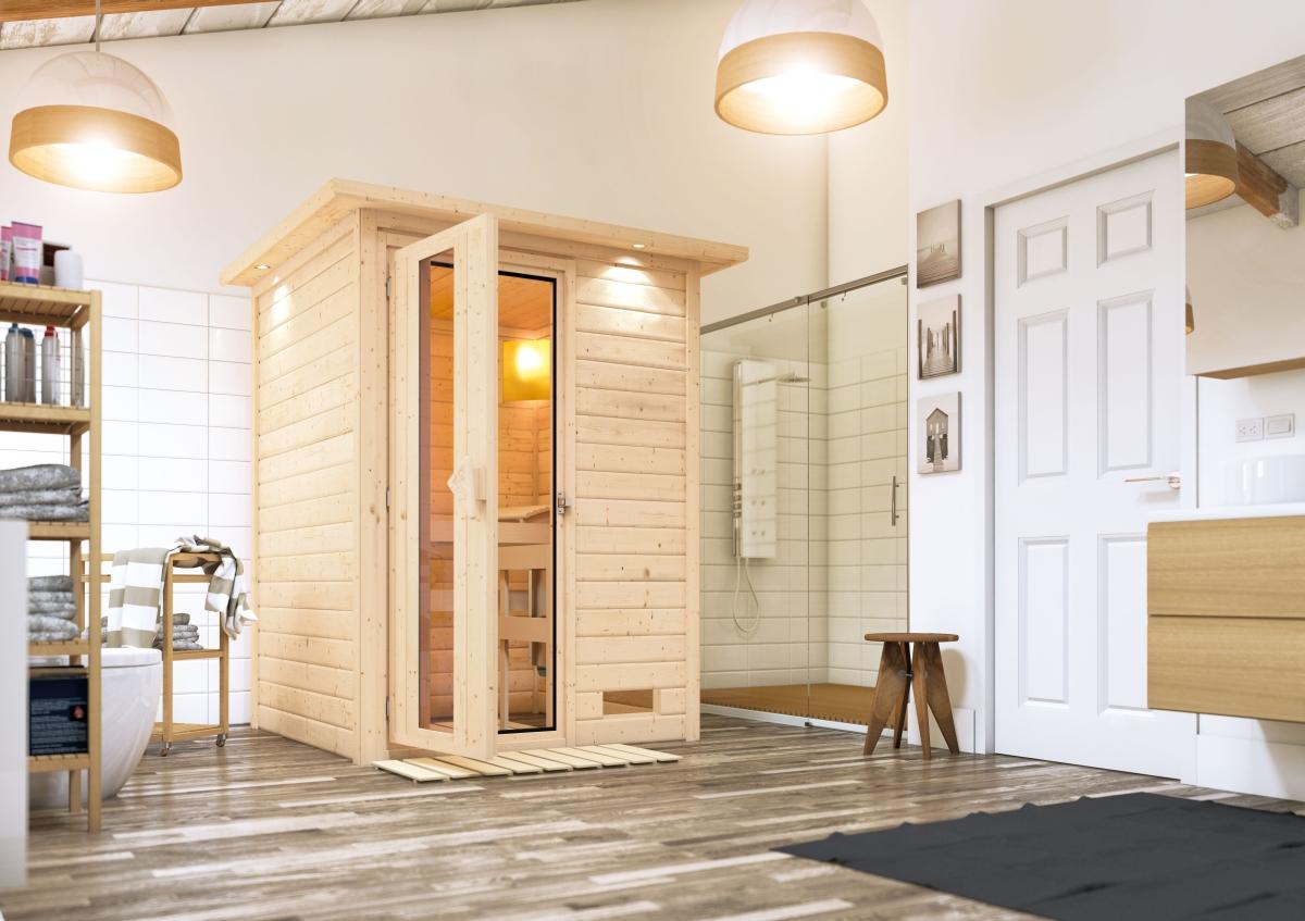 Les avantages d'un sauna finlandais
