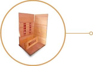 sauna infrarouge assemblage