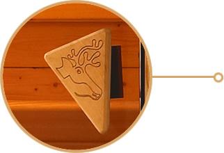 sauna finlandais assemblage