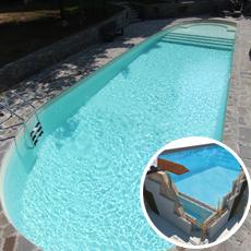 Kit piscine blocs polystyrène BALI PLUS 120h
