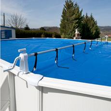 Enrouleur pour piscines hors-sol