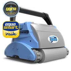 Robot pour piscine automatique TRAC 3000 pour fond et paroi