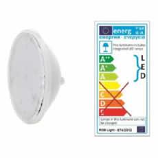 Ampoule PAR56 60 LED blanc 13,5W 12V ac – avec connecteur étanche