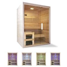 Sauna finlandais Ariane 150, sauna complet en kit