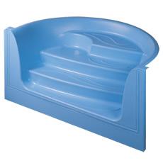 Escalier Onda en fibre de verre pour piscine