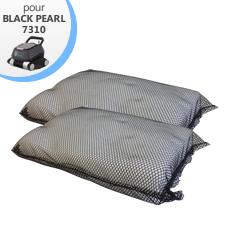 Kit de filtration fine (2 pièces) pour robot de piscine Black Pearl 7310