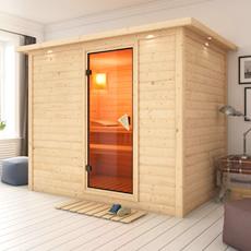 Sauna finlandais en bois massif  Fiordaliso - 40 mm