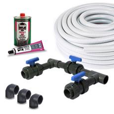 Kit pour le raccordement BYPASS pour ELECTROLYSE du SEL/Pompe à chaleur