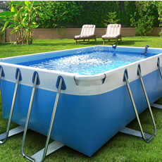 Piscine hors sol tubulaire BLUE STAR 100