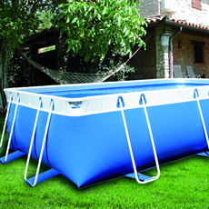Piscine hors sol tubulaire BLUE STAR 125