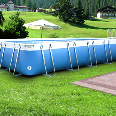 Piscine hors sol tubulaire BLUE STAR LARGE 125
