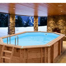 Piscine en bois, piscine en kit, complète de tous les accessoires, large choix au meilleur prix