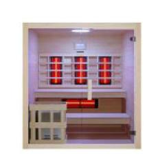 Sauna multifonction finlandais et infrarouge Bea 180