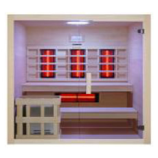 Sauna multifonction finlandais et infrarouge Bea 200