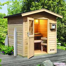 Sauna finlandais jardin Nicla