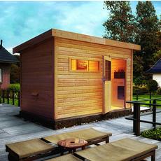 Sauna finlandais jardin Zen 2