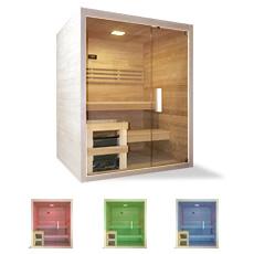 Sauna finlandais ariane 180 en kit Pour 5 personnes