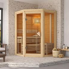 Sauna finlandais en bois Carla - 40 mm
