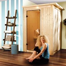 Sauna finlandais Léna 68 mm