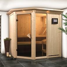Sauna finlandais Flore 1 68 mm kit complete