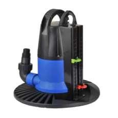 Pompe automatique pour vider l'eau sur la couverture hivernale
