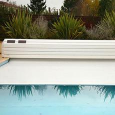 Volets hors sol automatiques pour piscines ROLLOVER