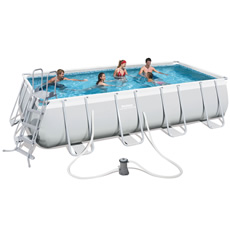 Piscine tubulaire 549 x 274 x H122 cm - Bestway Power Steel